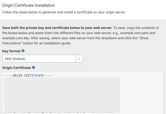 SSL証明書の作成