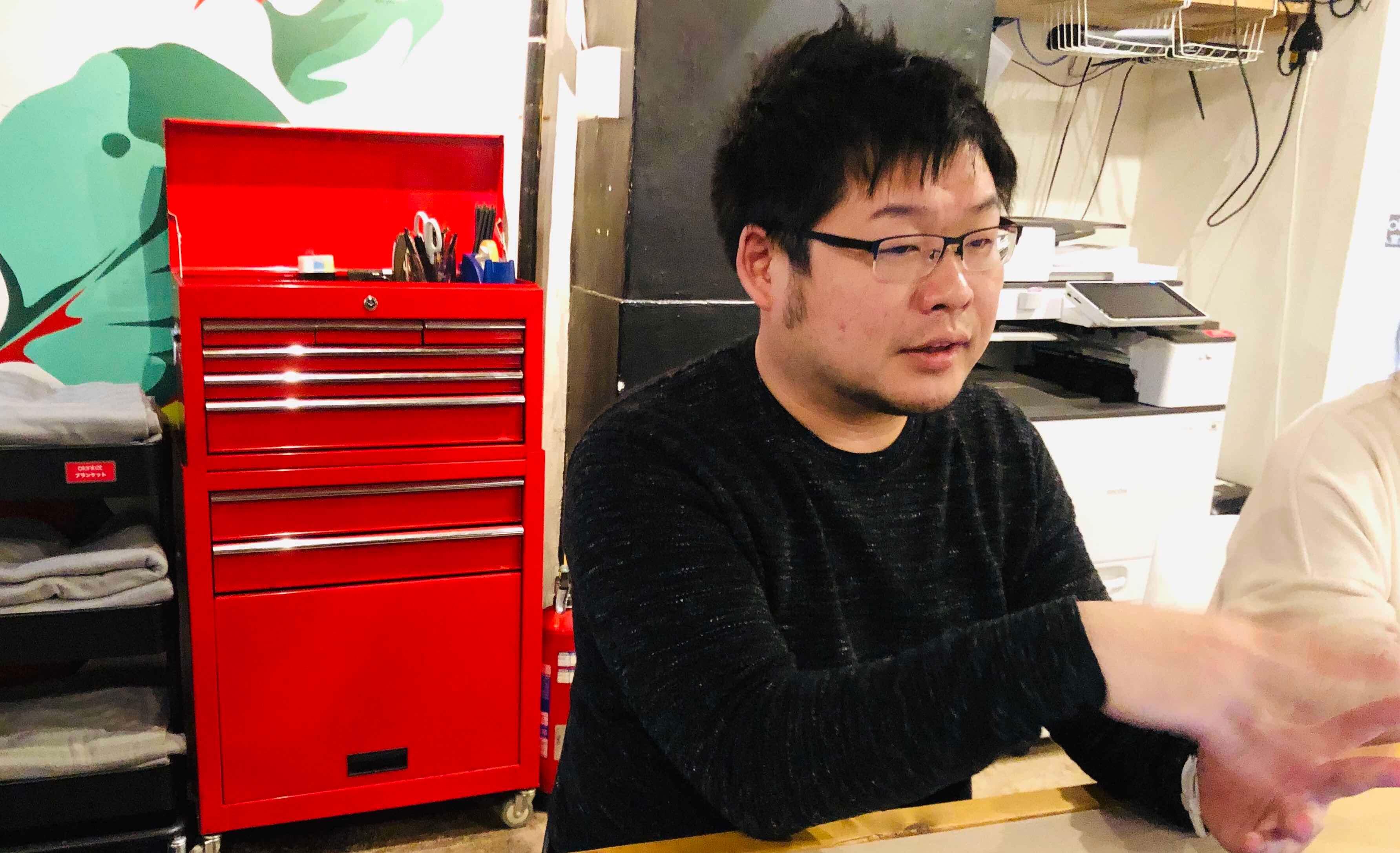 コワーキングスペース「いいオフィス」 斎藤さん